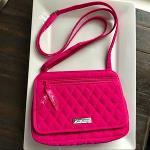 Bright Pink Vera Bradley Crossbody Purse
